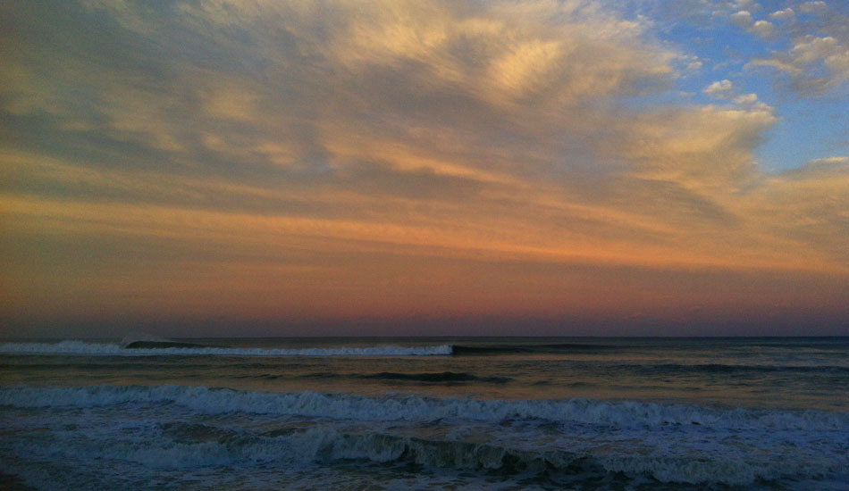 It\'s Boca Raton, baby! Peeling like an orange. Photo: Trin Schloot