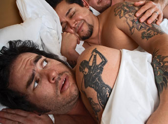 Fat Mike Nofx in bed