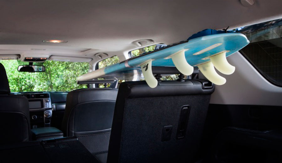 Here S A Surfboard Rack Inside Your Vehicle The Inertia