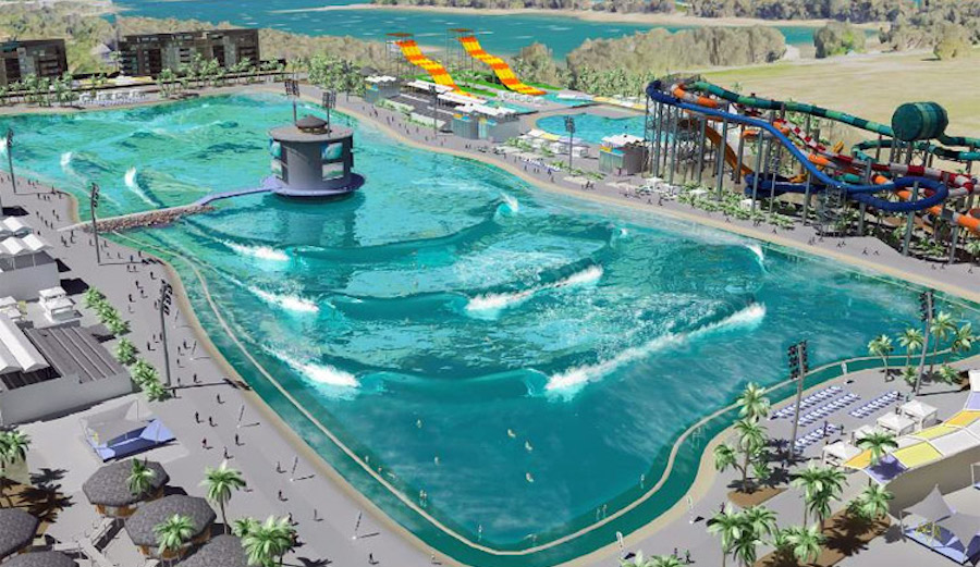 Occy Backs Surf Lakes 39 Wave Pool Project The Inertia