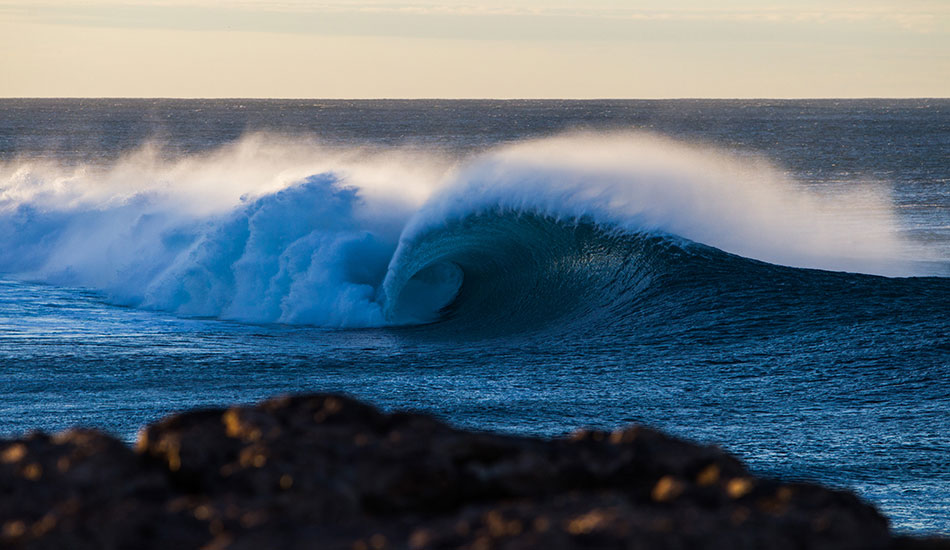 """This wave has always intrigued me from a distance. A few months ago I finally made the trek down to it on first light to see what it was all about. Photo: <a href=\""""http://www.benleephoto.com.au/home/\"""">Ben Lee</a>"""