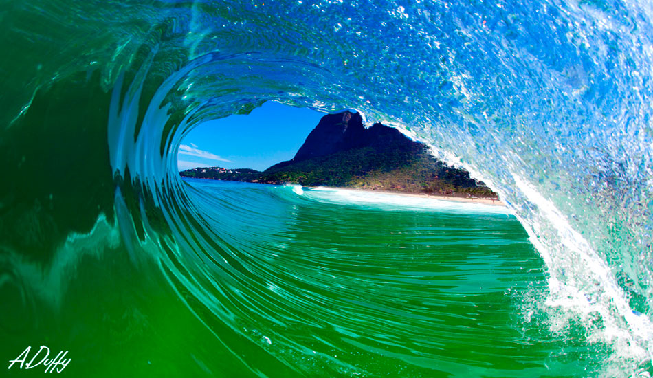 """Inside out in Brazil. This is my favorite be achy in Brazil. It\'s a solid wedge, close to shore, and perfect for water shooting. Photo: <a href=\""""http://adamduffyphotography.com/\"""">Adam Duffy</a>"""