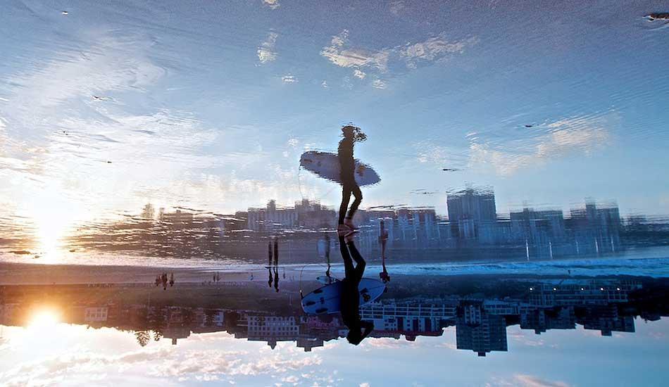 "Reflections, Bondi Beach. Photo: <a href= \""http://bayflare.com/\"" target=_blank>Rhydian Thomas.</a>"
