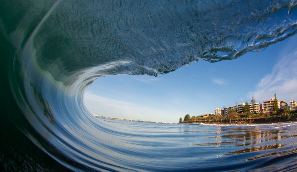 Tunnel Vision - Kings Beach, Sunshine Coast. Photo: Kieran Tunbridge