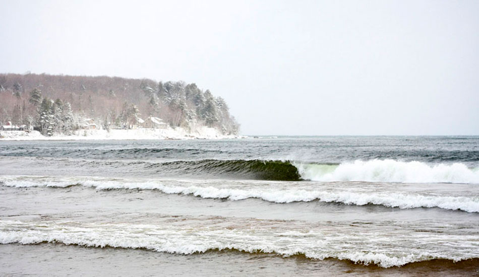 """<b>2. Great Lakes.</b>  Quite possibly the world\'s coldest barrel. Photo: <a href=\""""http://www.mikekillion.com/\"""" target=_blank>Mike Killion.</a>"""