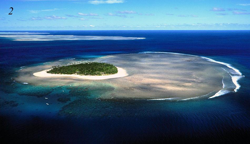 Fiji Islands Map Tavarua