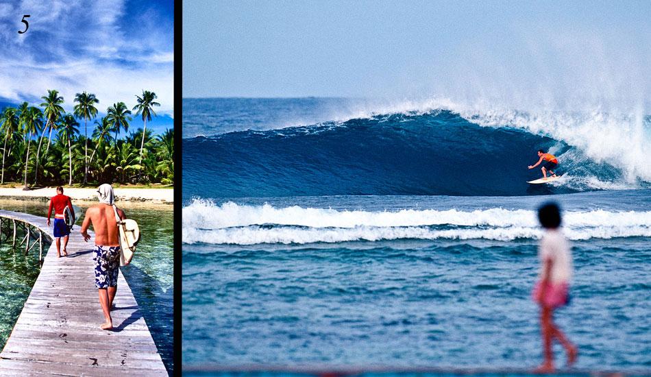 Surfer island