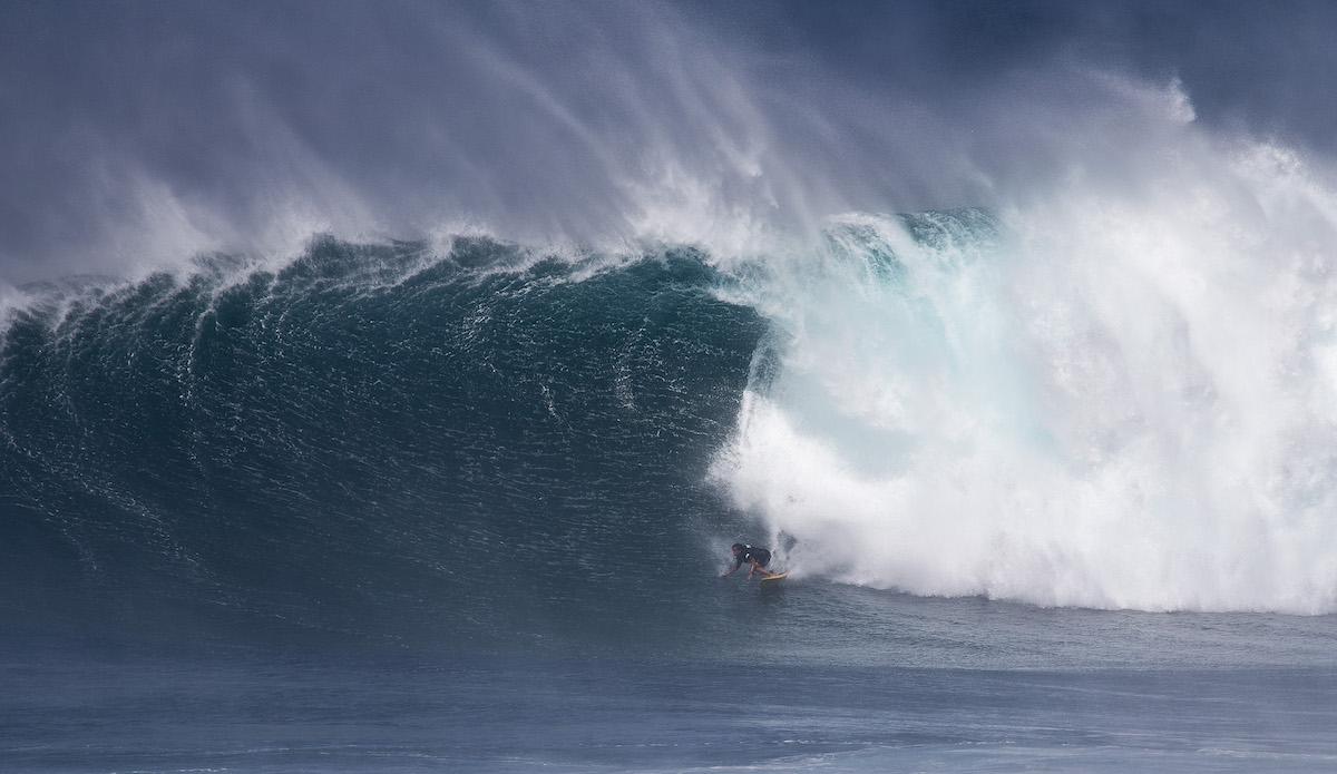 Kai Lenny lays into a hefty bottom turn. Photo: WSL/Morris
