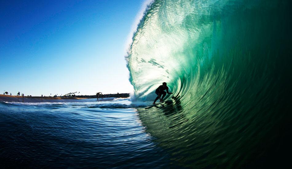 Paulo Prietto riding a beautiful monster. Photo: Luke Forgay