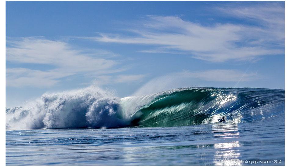 """Glistening offshore barrels have been abundant throughout San Diego. Photo: <a href=\""""http://www.mattadenphotography.com\"""">Matt Aden</a>"""