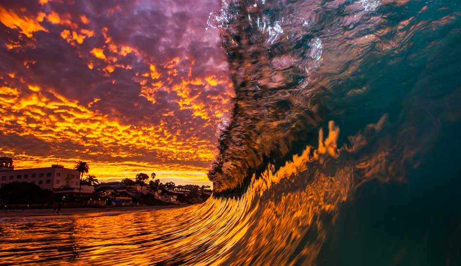"Orange County sunrise reflections. Photo: <a href=""http://www.nathanfrenchphotography.com\"">Nathan French</a>"