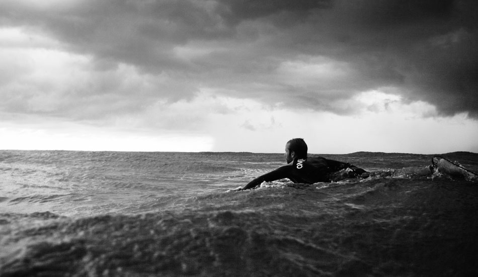 """This is my brother Mike in Costa Rica. I was watching some distant lightning while shooting and had to make a long, sketchy swim in when it got close. Photo: <a href=\""""http://www.kevinvphotos.com\"""" target=_blank>KevinVPhotos.com</a>"""