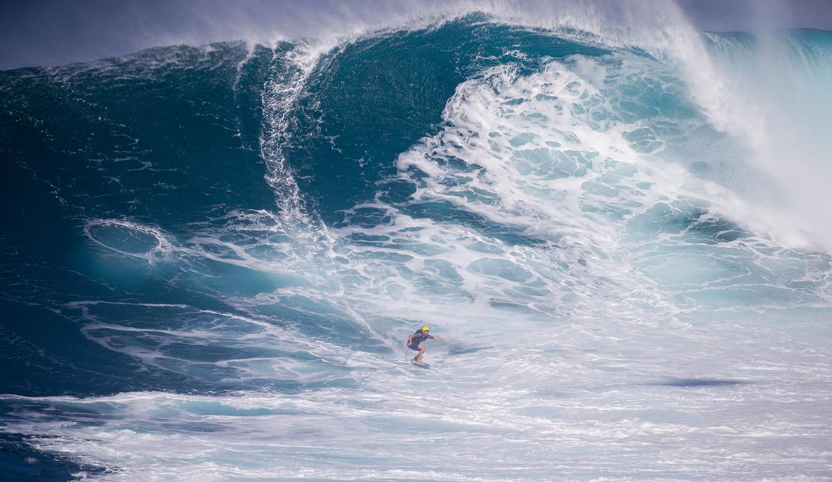 Sean McClenahan....on a skim.   Photo: Aaron Lynton