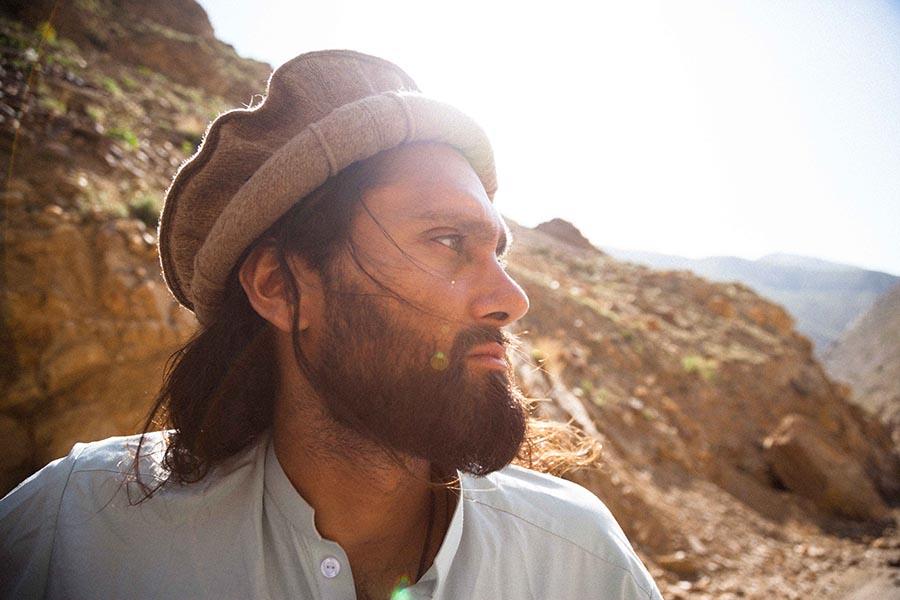 Afridun Amu wants to bring joy to his war-torn nation.