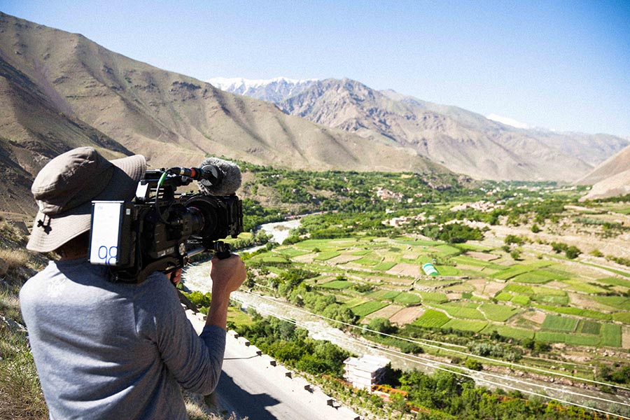 From this view, Afghanistan looks rather tranquil.