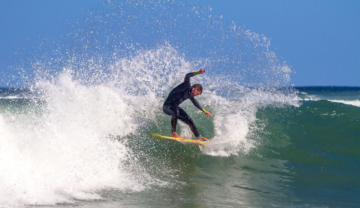 """Luke Goldsmidt wrapping his 5\'4 around in the bay. Photo: <a href=\""""https://www.facebook.com/pages/Pho-Tye-Studio/398591356893177?fref=nf\""""> Tyerell Jordaan</a>"""