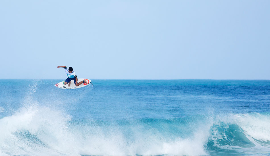 "Gabriel Medina, air drying. Photo: <a href=""http://mattdunbar.com.au\"">Matt Dunbar</a>"