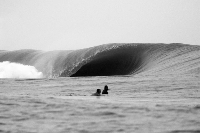 Teahupoo\'s lil sister exposing herself  to the few that know about her..One hint thats all you get Central America. Photo: Casey Rossi
