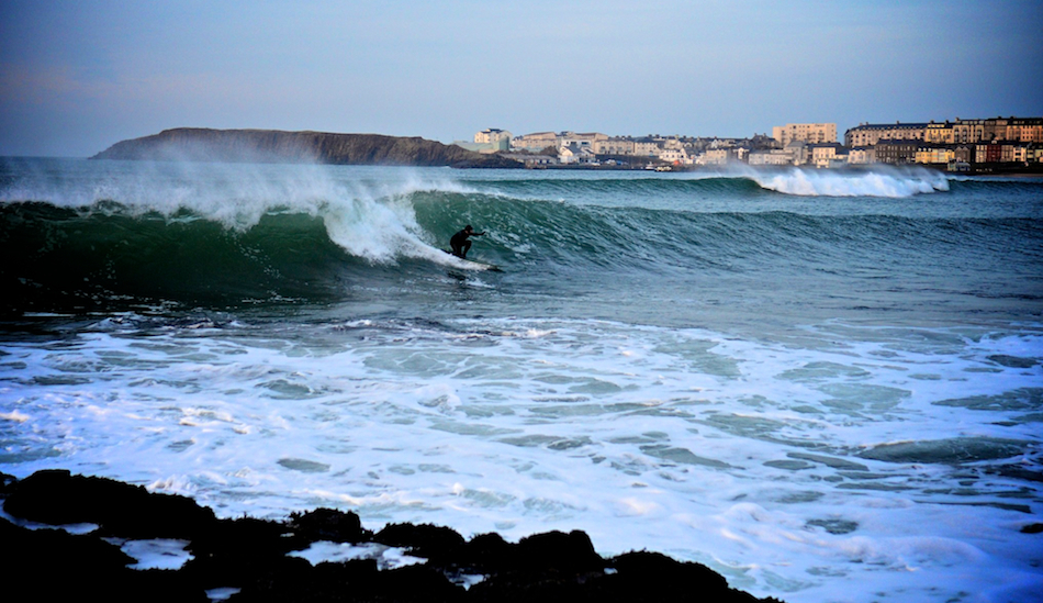 "Graham Stinson, local legend. West Strand, Portrush. Photo: <a href=""www.andyhillphotography.com\"">Andy Hill</a>"