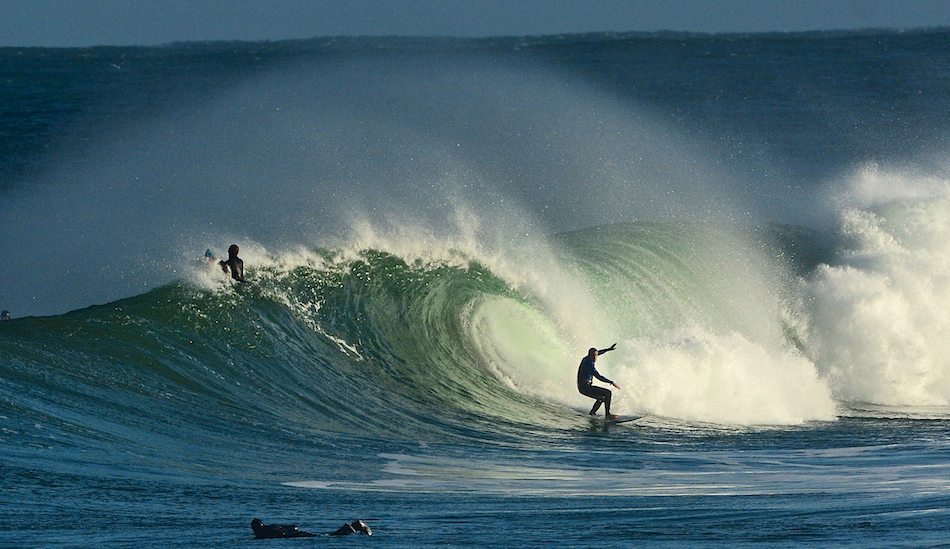 "October in Portrush. Blue skies, no boots or gloves. Photo: <a href=""www.andyhillphotography.com\"">Andy Hill</a>"