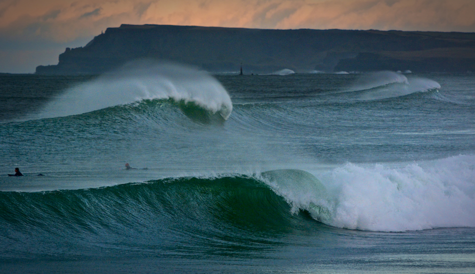 "Just one more wave before dark. December 2014, Portrush, County Antrim N. Ireland. Photo: <a href=""www.andyhillphotography.com\"">Andy Hill</a>"