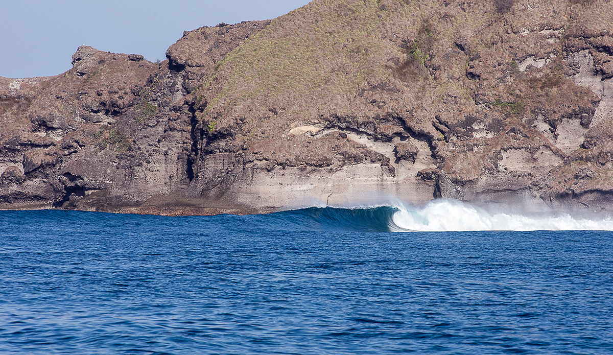 When rumors of good waves turn into reality, there is no better feeling. Photo: Austin Robertson