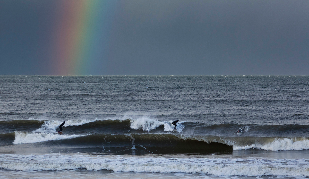 "Heated by the colors. Photo: <a href=""https://www.facebook.com/balticsurfscapes\"" target=\""_blank\"">Facebook</a>"
