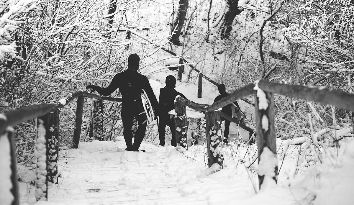 """Snow warriors. Photo: <a href=\""""https://www.facebook.com/balticsurfscapes\"""" target=\""""_blank\"""">Facebook</a>"""
