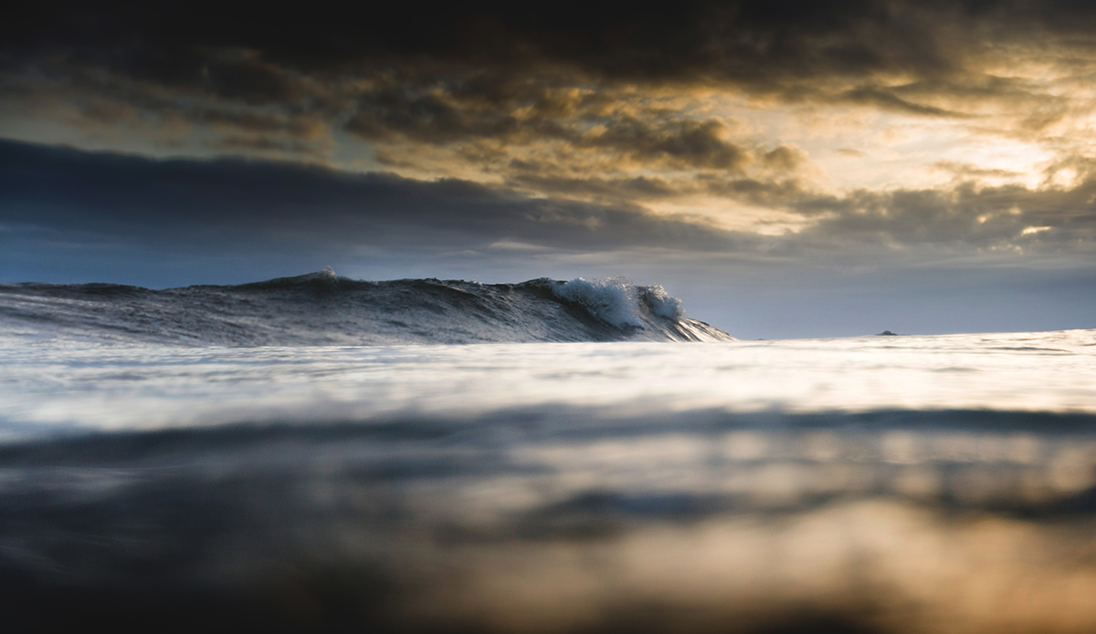 "Blurry reflection. Photo: <a href=""https://www.facebook.com/balticsurfscapes\"" target=\""_blank\"">Facebook</a>"