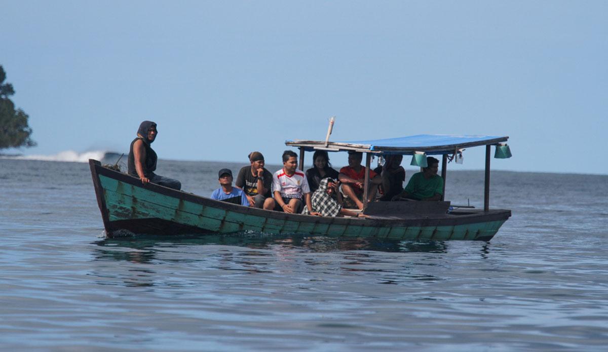 "Fishermen entering the bay. Photo: <a href=\""http://www.benbireau.com\""> Ben Bireau</a>"