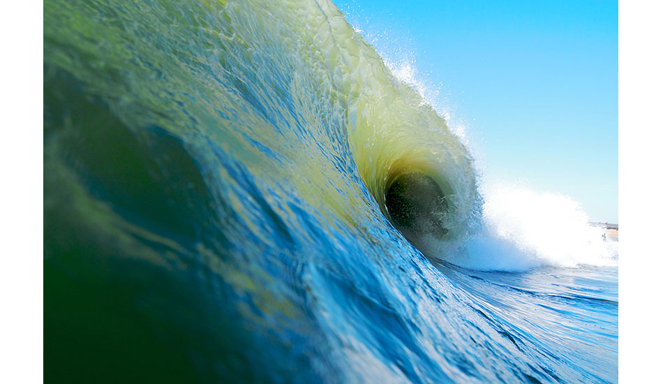 """One of my favorite, yet fickle, local shorebreaks doing what it does best. Photo: <a href=\""""http://driftwoodfoto.com/\"""">Ben Ginsberg</a>"""