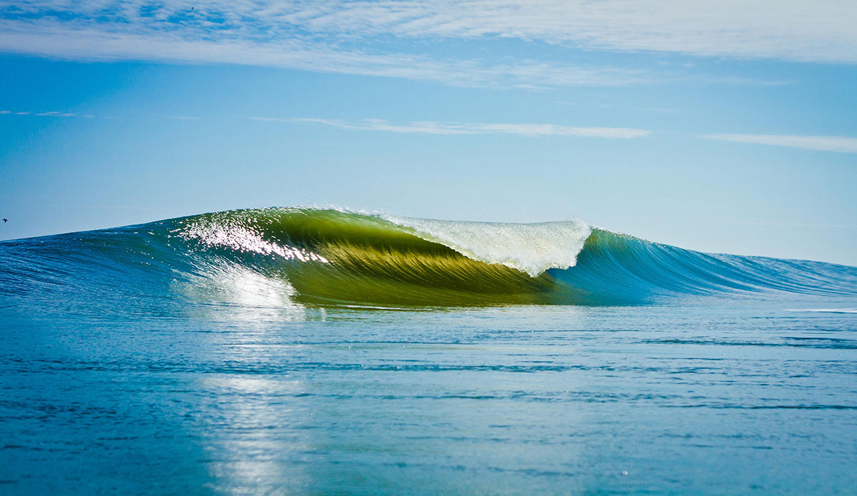 "A-frame Outer Banks. Photo: <a href=""https://www.surferphotos.com\"">Graham Hunt</a>"