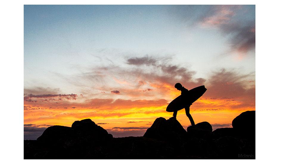 "We had some great light shows as the sun set. Photo: <a href=\""http://markmcinnis.com/\"">Mark McInnis</a>"