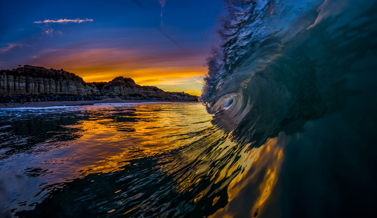 """Sunrise colors. Photo: <a href=\""""http://www.mattadenphotography.com\"""">Matt Aden</a>"""