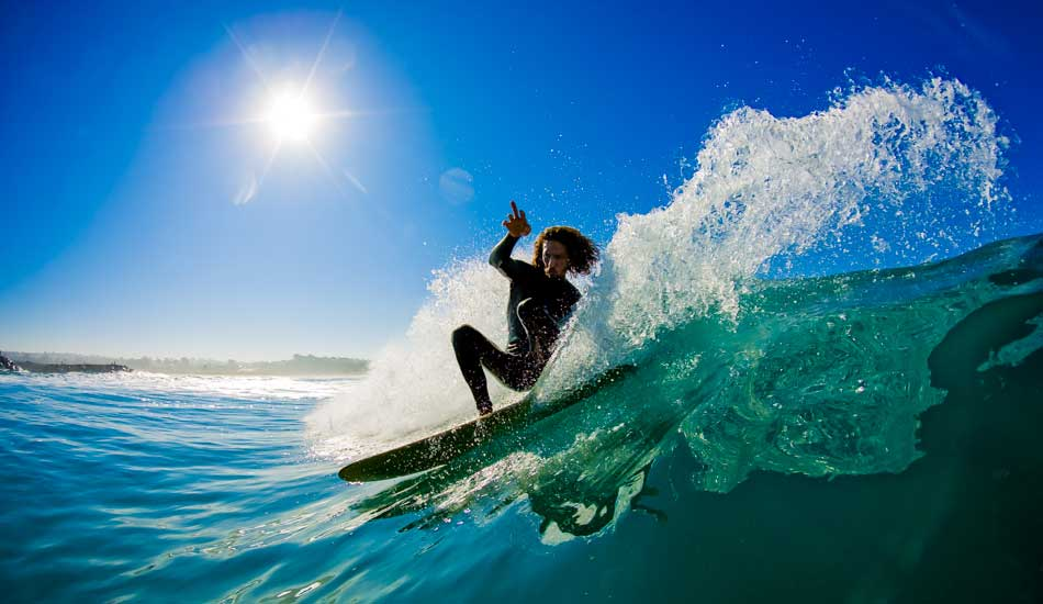 """I\'m convinced that Rob can pretty much surf on anything under his feet.  Here he is from an alaia session in Carlsbad. Photo: <a href=\""""http://anthonyghigliaprints.com/\"""" target=\""""_blank\"""">Anthony Ghiglia</a>"""