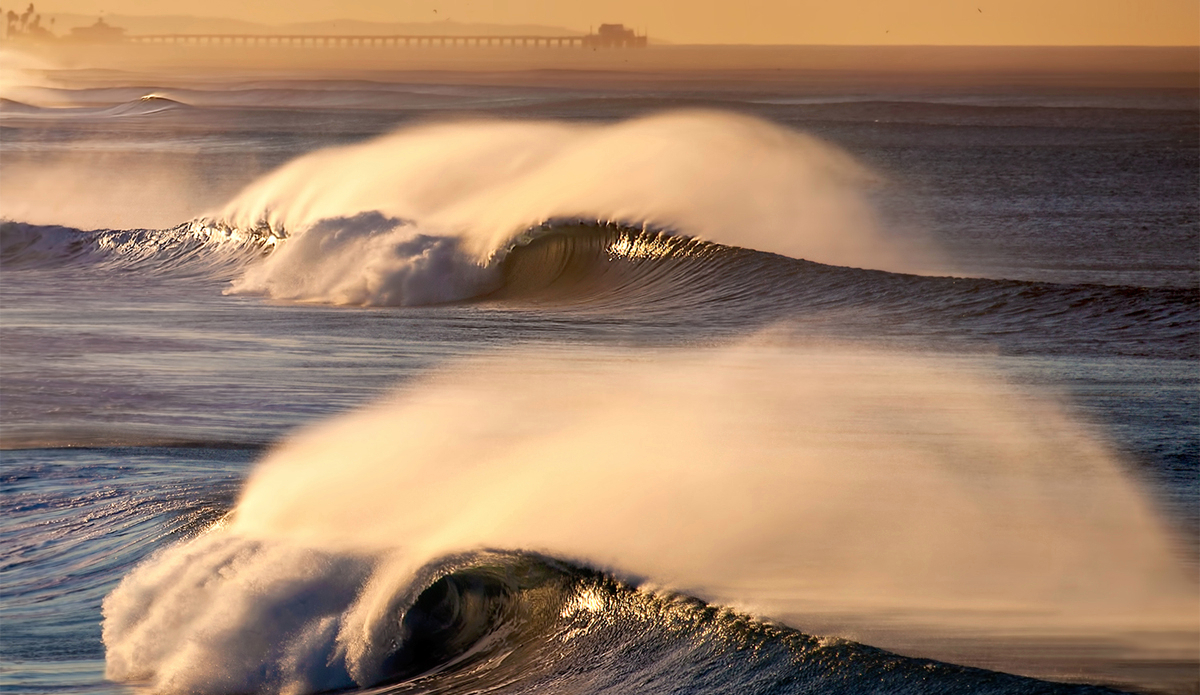 If you're a surfer in SoCal, then you know how rare these days are. Do I shoot or surf? 