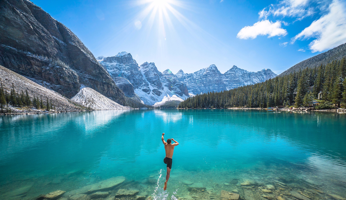 """We work hard, but we always try and find the time to enjoy nature's playground. Photo: <a href=""""https://instagram.com/chrisburkard/"""">Chris Burkard</a>"""