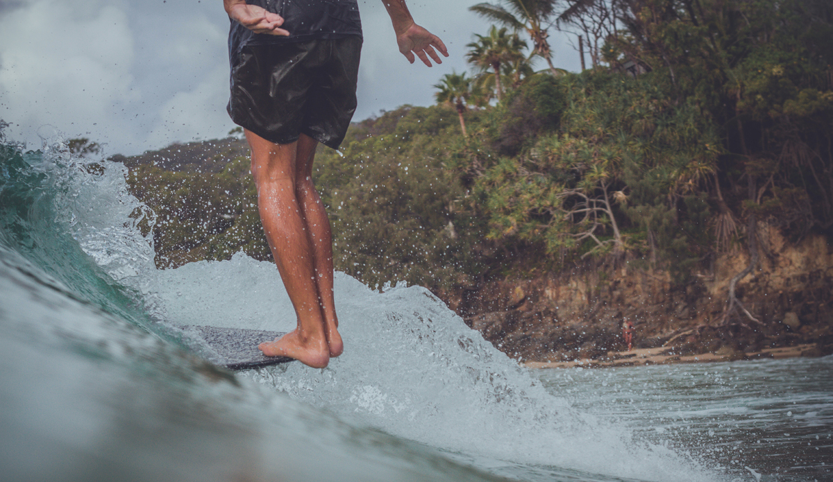 """A Hawaiian mustached dude named Jack (@haolekook) landed one day in Noosa Heads and never left. Well, who wouldn\'t stay? Photo: <a href=\""""https://instagram.com/thomaslodin\"""">@thomaslodin</a>"""