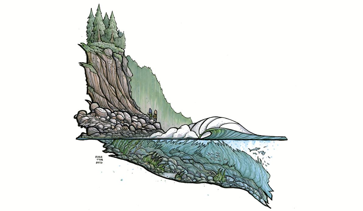 North Coast. Illustration: Blaze Syka