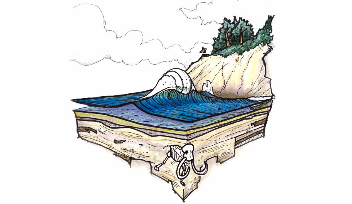 "Mammoth Wedge. Illustration: <a href=\""http://www.blazesyka.com\"">Blaze Syka</a>"