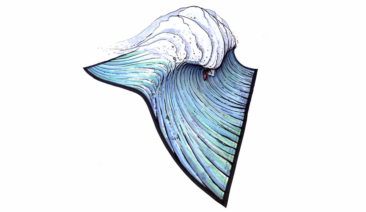 "Surface Tension. Illustration: <a href=\""http://www.blazesyka.com\"">Blaze Syka</a>"