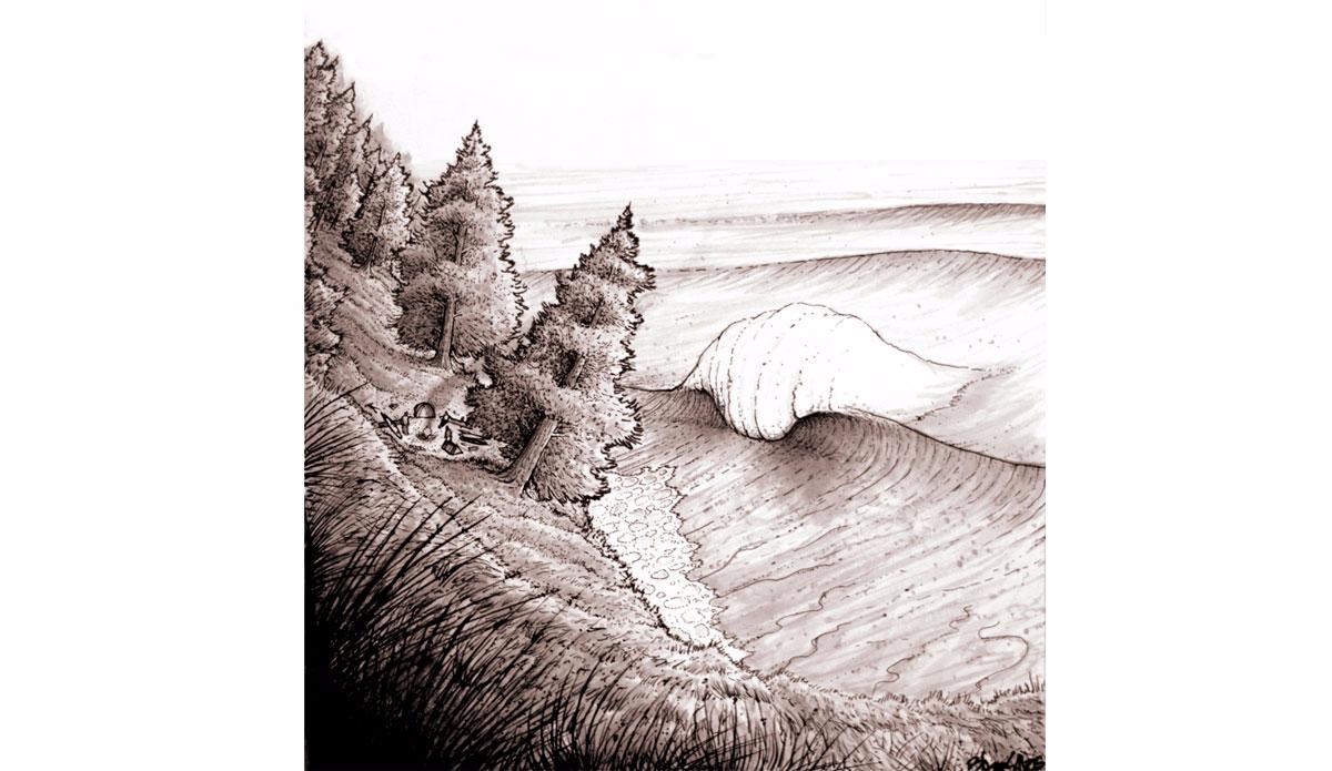 "Hike in No. 3. Illustration: <a href=\""http://www.blazesyka.com\"">Blaze Syka</a>"