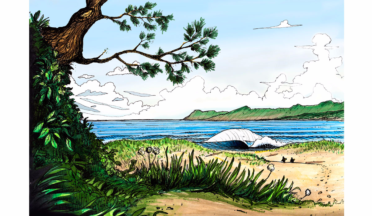 "Hike in No. 2. Illustration: <a href=\""http://www.blazesyka.com\"">Blaze Syka</a>"