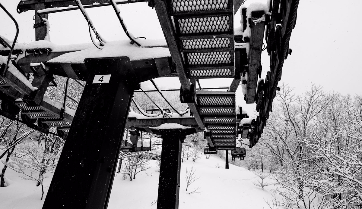 "Chairlift, Myoko, Japan. Photo: <a href=""http://instagram.com/deanblottogray\"">Dean Blotto Gray</a>"
