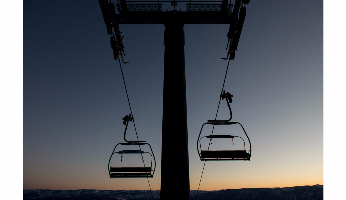 "Chairlift, Snowmass. Photo: <a href=""http://instagram.com/deanblottogray\"">Dean Blotto Gray</a>"