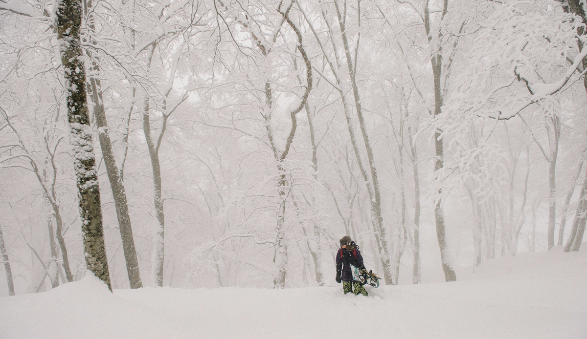 "Kimmy Fasani, Myoko, Japan. Photo: <a href=""http://instagram.com/deanblottogray\"">Dean Blotto Gray</a>"