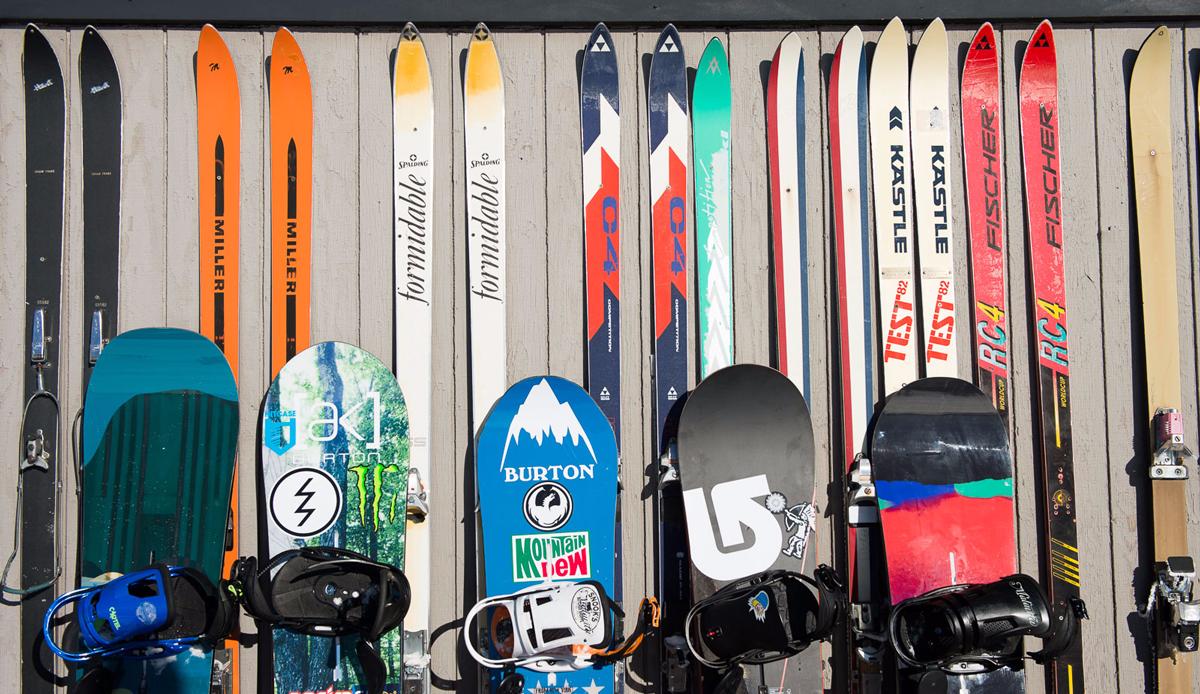 "Snowboards, Jackson Hole. Photo: <a href=\""http://instagram.com/deanblottogray\"">Dean Blotto Gray</a>"