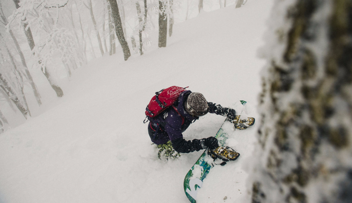 "Kimmy Fasani, Myoko, Japan. Photo: <a href=""https://instagram.com/deanblottogray/\"">Dean Blotto Gray</a>"