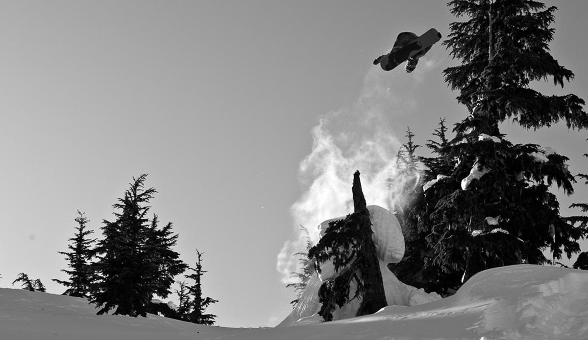 "Nicolas Müller frontside 720 tailgrab log jam. Photo: <a href=\""http://deanblottogray.com/\"">Blotto</a>"