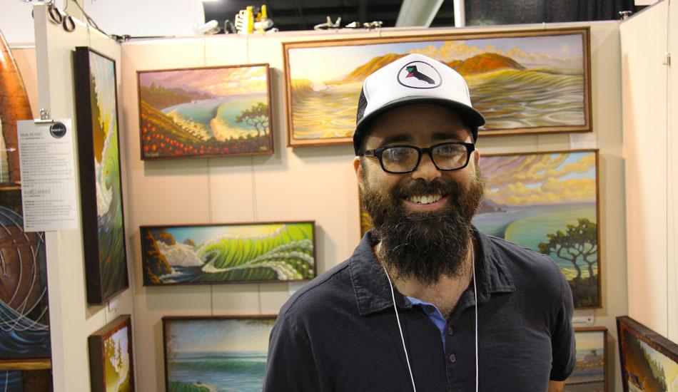 """<a href=\""""http://www.theinertia.com/music-art/artist-portfolio-matt-beard-2/\"""">Matt Beard</a> makes art. Amazing art. Photo: <a href=\""""http://www.verbtv.com\""""> VERB TV</a>"""